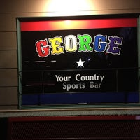 Photo taken at George Country Sports Bar by Adam on 11/20/2016