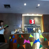 Photo taken at Broadcast Thai Television by Somroj S. on 4/26/2013