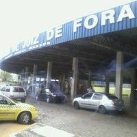 Photo taken at Terminal Rodoviário Miguel Mansur by Rob N. on 11/17/2012