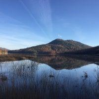 Photo taken at Bass Lake by Cesar R. on 2/25/2016