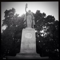 Photo taken at William McKinley Statue by José R. on 4/19/2014