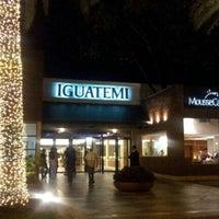 Photo taken at Shopping Iguatemi by Claudia G. on 11/30/2012