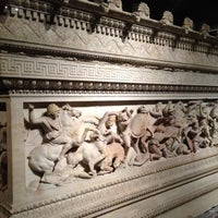 Photo taken at Istanbul Archaeology Museums by Merve N. on 11/22/2012