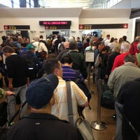Photo taken at TSA Checkpoint C by Rod B. on 5/19/2013