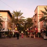Photo taken at Espanola Way Village by Manny A. on 9/30/2012