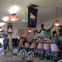 Photo taken at Sugar Bowl Ice Cream Parlor Restaurant by Barb S. on 11/28/2012