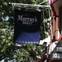 Photo taken at Murray's Bagels by Orsini G. on 7/29/2013
