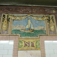 Photo taken at MTA Subway - South Ferry (1) by C A. on 6/11/2016