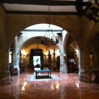 Photo taken at Parador Santo Domingo de la Calzada by David L. on 11/4/2012