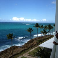 Photo taken at The Condado Plaza Hilton by Andrew F. on 4/13/2013