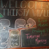 Photo taken at Thirsty Whale by Matt K. on 5/5/2014
