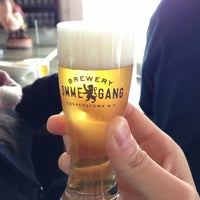 Photo taken at Brewery Ommegang by J R. on 1/12/2013