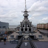 Photo taken at USS Wisconsin (BB-64) by Tim D. on 7/2/2013