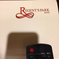 Photo taken at Regent's Park Hotel by Rayyan B. on 8/17/2014