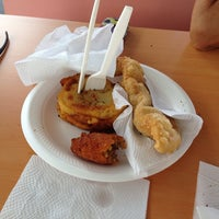 Photo taken at Kiosko Roca Taina #60 by Joe C. on 6/14/2014