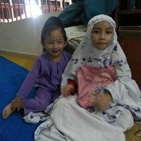 Photo taken at Masjid Pekan Papar by Tuty M. on 8/6/2013