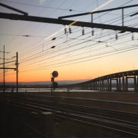 Photo taken at New Jersey Turnpike - Port Reading by Kate G. on 3/4/2016