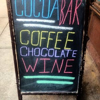 Photo taken at Cocoa Bar by Diane B. on 2/6/2013