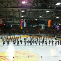 Photo taken at Olympia-Eisstadion by Josef F. on 11/11/2012