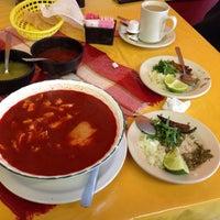 Photo taken at Taqueria Vega by Joel C. on 1/5/2014