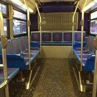 Photo taken at MTA Bus - 7 Av & W 57 St (M31/M57/X12/X14/X30/X42) by Loren F. on 9/29/2013