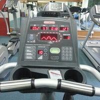 Photo taken at TechnoFlex Gym & Fitness Club by Adzrean on 8/8/2014