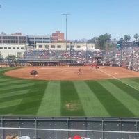 Photo taken at Rita Hillenbrand Memorial Stadium by Robert S. on 5/10/2014