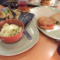 Photo taken at Panera Bread by Sila Gunce C. on 11/15/2014