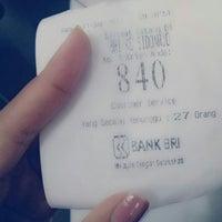 Photo taken at Bank BRI by Niqen E. on 9/11/2013