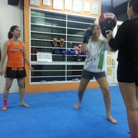 Photo taken at Combat Kickboxing by Alex S. on 4/15/2014