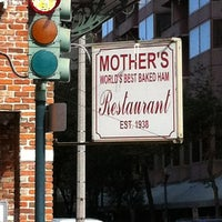 Photo taken at Mother's Restaurant by Ron B. on 12/3/2012