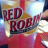 Photo taken at Red Robin Gourmet Burgers by Will M. on 2/27/2013
