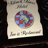 Photo taken at Black Bass Hotel by Brian P. on 1/12/2013