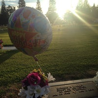 Photo taken at Clovis Cemetary by Lisa S. on 7/26/2014