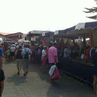 Photo taken at Marché du Cap Ferret by Idillyc Thomas D. on 7/14/2013