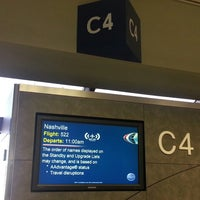 Photo taken at Gate C4 by JP W. on 3/16/2013
