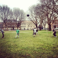 Photo taken at Queen Square by Jay D. on 3/3/2013