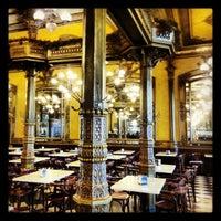Photo taken at Café Iruña by Steve I. on 10/16/2012