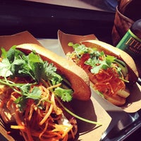 Photo taken at Num Pang Sandwich Shop by ben c. on 10/2/2013
