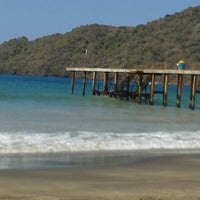 Photo taken at Playa Puerto Francés by Manuel Eduardo S. on 4/1/2013
