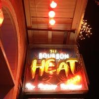 Photo taken at Bourbon Heat by MISSLISA on 2/14/2013