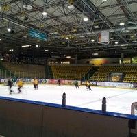 Photo taken at Eissporthalle Frankfurt by Eugen W. on 12/13/2012