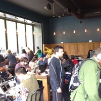 Photo taken at Manhattanville Coffee by Peter C. on 5/9/2015