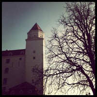Photo taken at Bratislava Castle by Elvis Š. on 1/8/2013