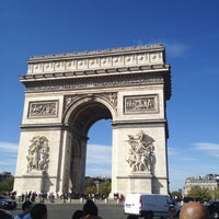 Photo taken at Place Charles de Gaulle by Khalid Q. on 10/1/2012