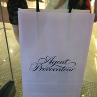 Photo taken at Agent Provocateur by Alexandra K. on 6/28/2013