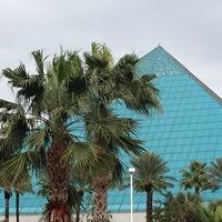 Photo taken at Moody Gardens Aquarium Pyramid by David George M. on 12/28/2012