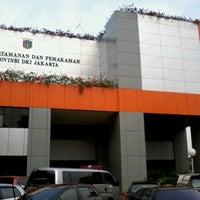 Photo taken at Dinas Pertamanan dan Pemakaman Provinsi DKI Jakarta by Taufiq O. on 11/5/2012
