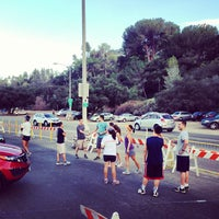 Photo taken at Rose Bowl Loop by Rudy E. on 7/15/2013