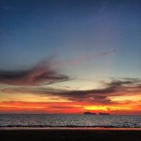 Photo taken at Sukorn Beach Bungalows Trang by Lorenzo M. on 4/8/2014